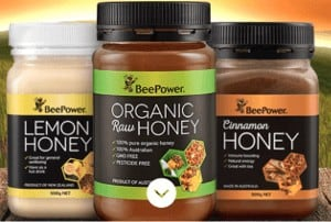 bee power honey