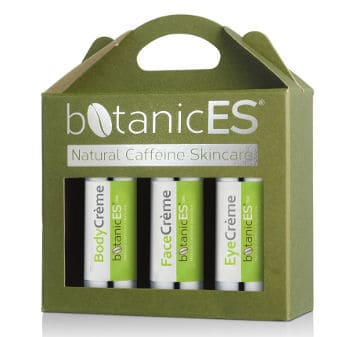 botanicES coffee skin treatment