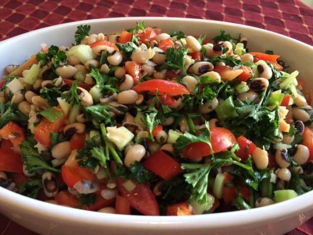 Saludu Nebbe Salad